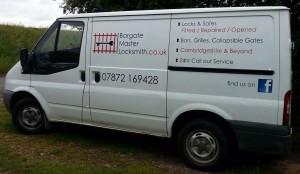 Bargate locksmith van